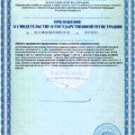 Свидетельство о государственной регистрации Юниор Би Смарт Р Vision