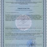 Свидетельство о государственной регистрации Мега Vision БАД