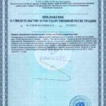 Свидетельство о государственной регистрации Свелтформ+ Vision БАД