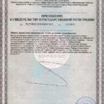 Свидетельство о государственной регистрации Кардио Драйв Vision БАД
