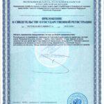 Свидетельство о государственной регистрации Куперс Нео