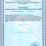 Свидетельство о государственной регистрации Гранатин Q10 Vision БАД