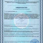Свидетельство о государственной регистрации Мистик Vision БАД
