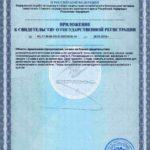 Свидетельство о государственной регистрации Сэйф-Ту-Си Vision Бад