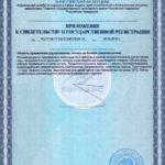 Свидетельство о государственной регистрации Саппресант КГ-Офф Vision БАД