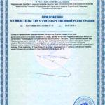 Свидетельство о государственной регистрации Свелтформ Р Vision БАД