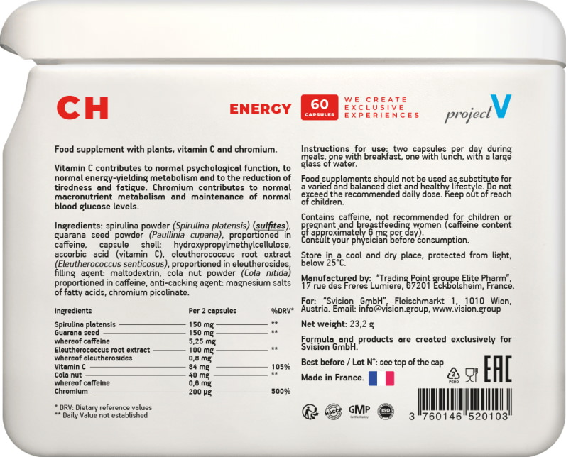 CH projectV etiketka